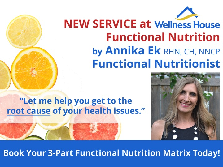 Functional Nutrition   Wellness House