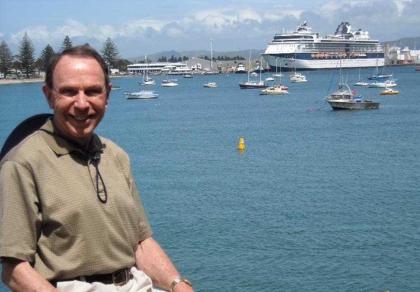 Dr John Hall infant of cruise ship