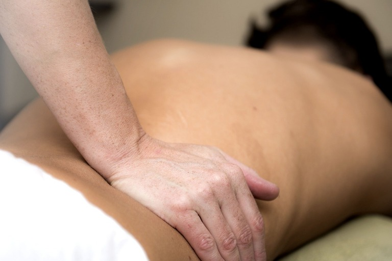 Low back massage