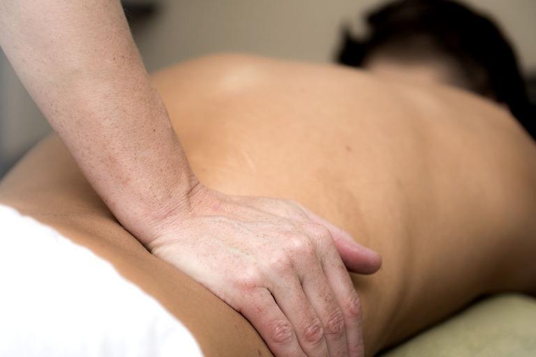 Low back massage
